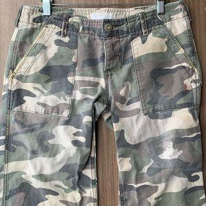 3 for $25 Roxy army print capris